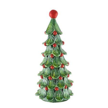 Albero di Natale con Foglie Grande - Ceramiche Giacomo Alessi