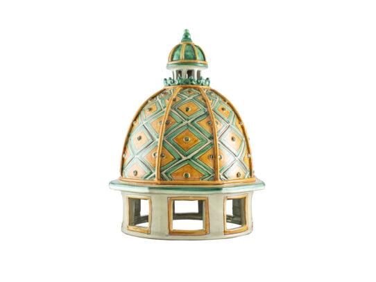 Dome GIACOMO ALESSI® verde & arancio