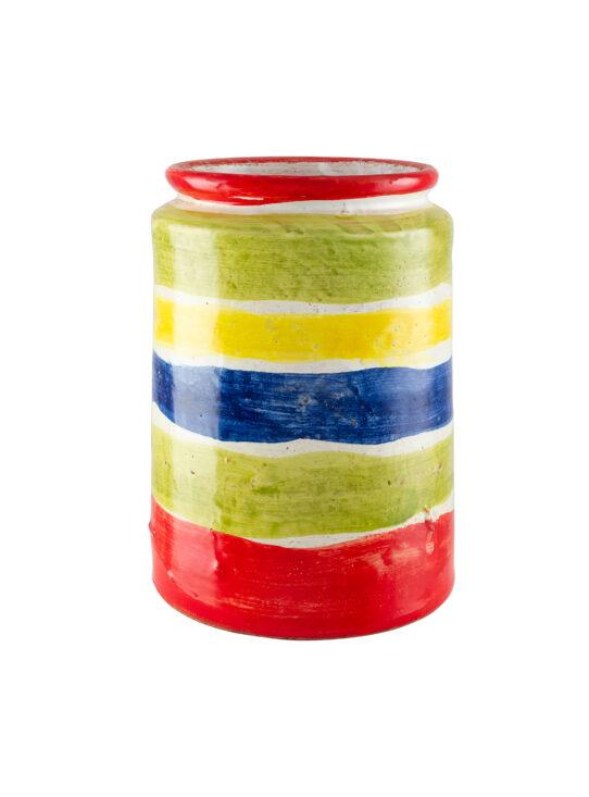 barattolo pasta multicolore